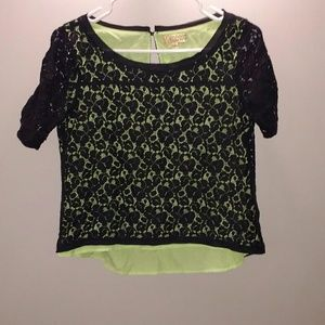 Princess vera wang lace shirt medium